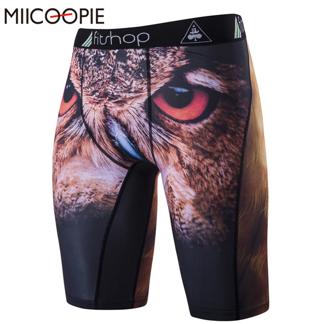 3f57f1428d Fashion Sexy Slim Fitted Printed Men's Tight Beach Shorts Casual Summer Men  Workout Shorts Fitness Quick Dry Men Swimsuit New