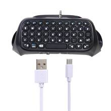 Mini Nirkabel Bluetooth Keyboard Keypad Gamepad Controller untuk Sony PS4 Keyboard(China)