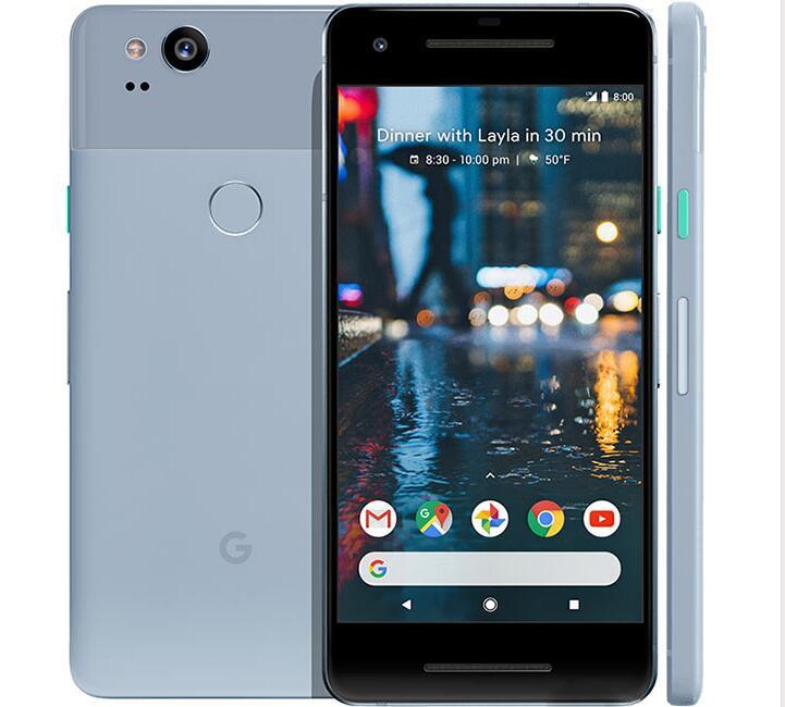 Original Unlocked US version Google Pixel 2 Octa Core 4GB RAM 64GB/128GB ROM Single sim Phone 4G LTE 5.0 inch Android cellphone