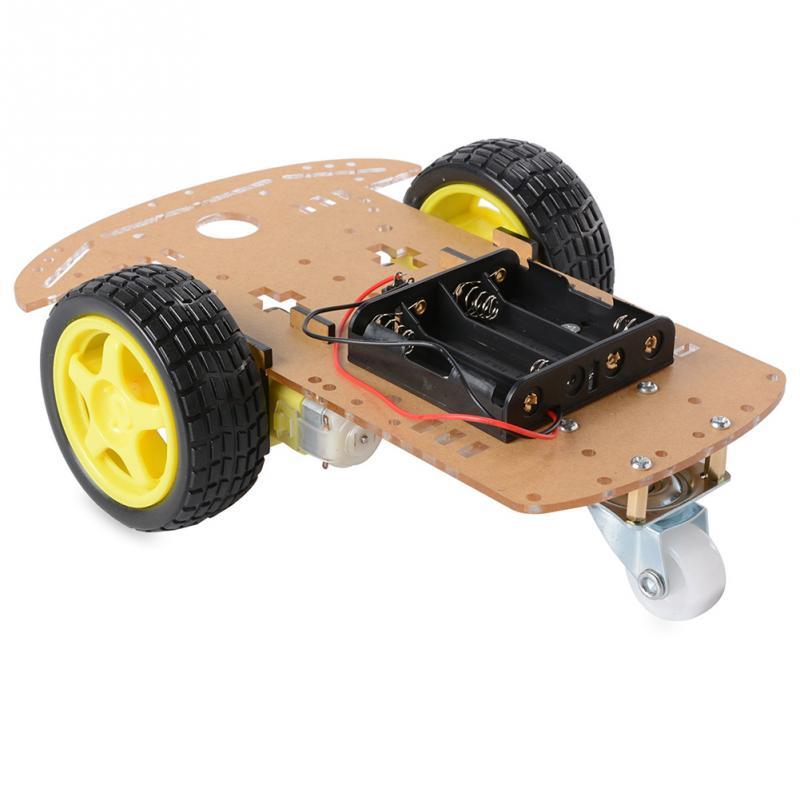 Image 3 - 2WD двигатель умный робот шасси автомобиля Комплект Скорость кодер батарея коробка-in Детали и аксессуары from Игрушки и хобби