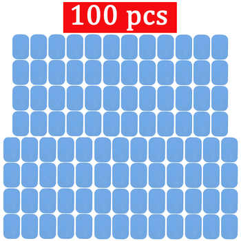 100pcs Replacement Fitness Gel Stickers For EMS Muscle Training Massager ABS Abdominal Trainer Hydrogel Electrode Pad/Patch - DISCOUNT ITEM  36% OFF All Category