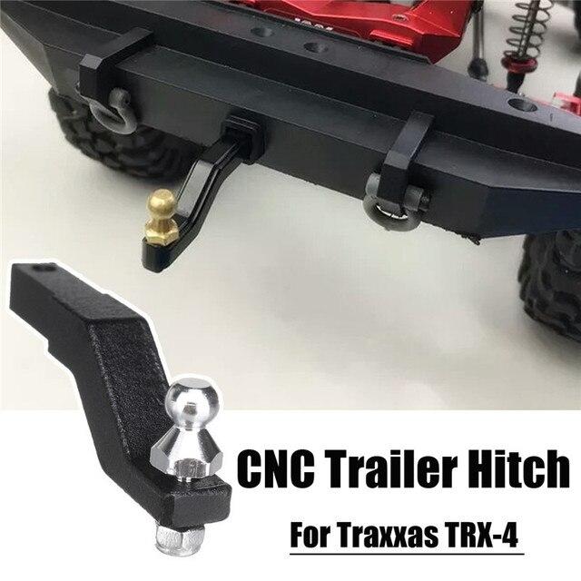 Tow Hitch Accessories >> For Traxxas Trx 4 Crawler Black Cnc Aluminum Tow Trailer Drop Hitch