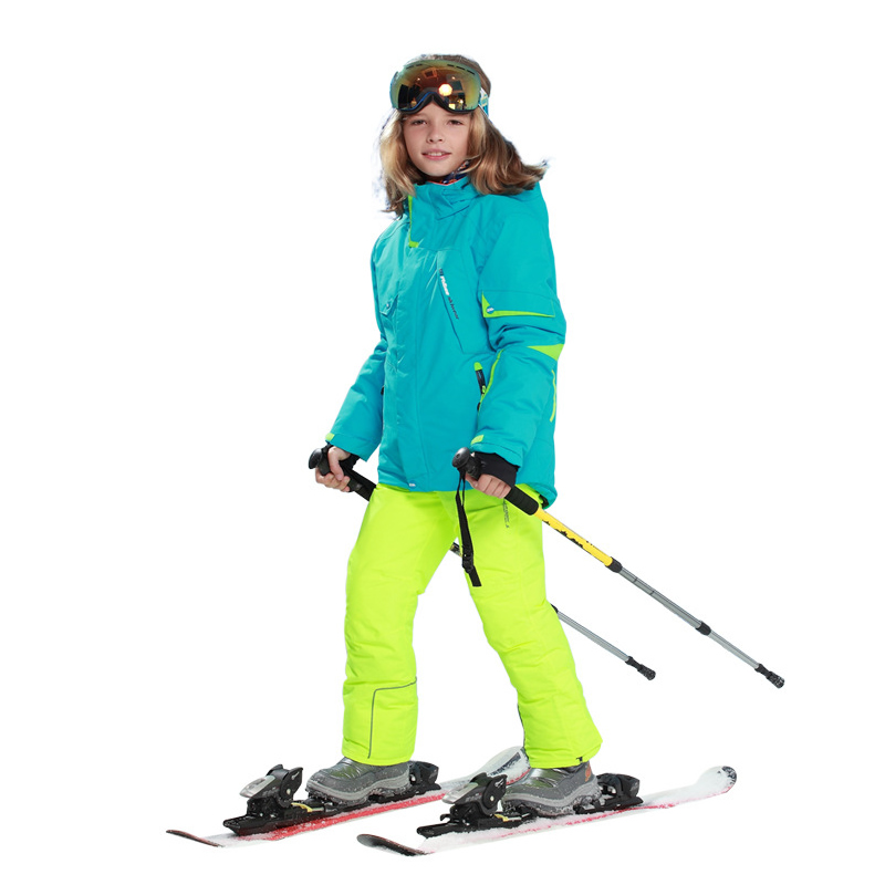 Ski Jacket Boys Girls Waterproof Snow Skateboard Skiing Suit Set Kids(6 16) Winter Snow Sports Clothes with Detachable Hooded