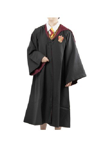 Cheap adult and kid Hufflepuff Slytherin Ravenclaw Gryffindor Harry Costume(Cloak and tie) form Harry cosplay costume