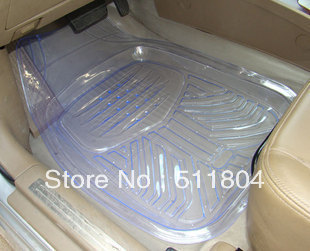universal car waterproof plastic mat auto transparent pvc slip resistant carpets car floor. Black Bedroom Furniture Sets. Home Design Ideas