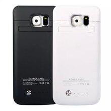4200 мАч Ultra Slim Портативный Резервное копирование Внешняя Батарея Зарядное устройство случае 4200 мАч Мощность Bank Обложка для Samsung Galaxy S6/ S6 край