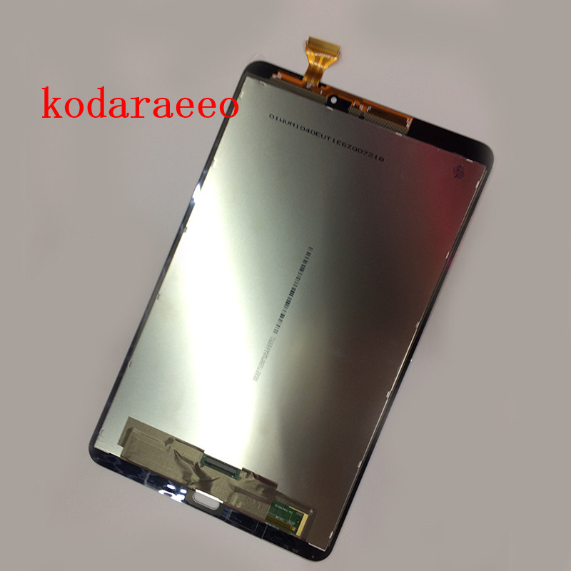 Kodaraeeo For Samsung Galaxy Tab A 10.1 SM-T580 T585 Touch Screen Digitizer with LCD Display assembly Panel Replacement Parts free shipping for samsung galaxy tab a 7 0 2016 sm t285 t285 touch digitizer lcd screen display assembly replacement