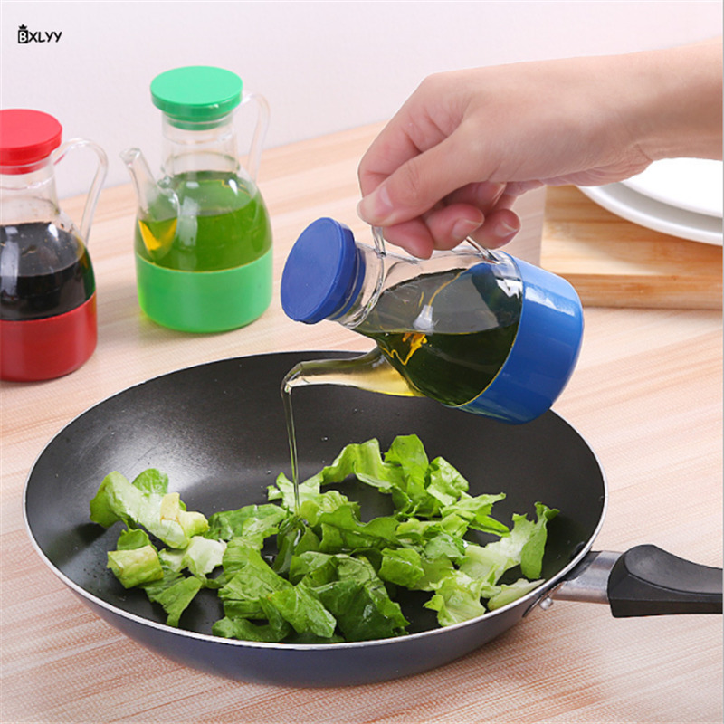 1pc Leak-proof Small Oil Pot Household Sesame Oil Soy Sauce Vinegar Seasoning Bottle Kitchen Supplies Barbecue Cooking.7z(China)