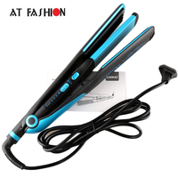 110 240V Professional Hair Straightener Electric Hair Styling Tools 2 IN 1 Tourmaline Ceramic Hair Curler
