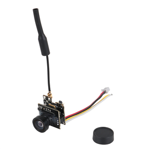 Image 2 - LST S2 + 5.8 جرام 25 ميجا واط 40CH 800TVL الارسال FPV AIO كاميرا دقيقة FPV كاميرا مع OSD البسيطة RC سباق Drone quadcopter قطع الغيار
