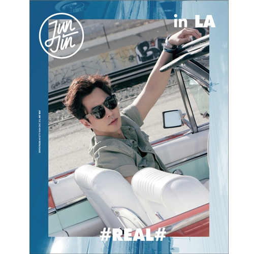 JUNJIN THE 2ND MINI ALBUM #REAL# IN LA(REPACKAGE) Release date 2015.12.10 Kpop Album lim changjung 13th album release date 2016 09 09 kpop