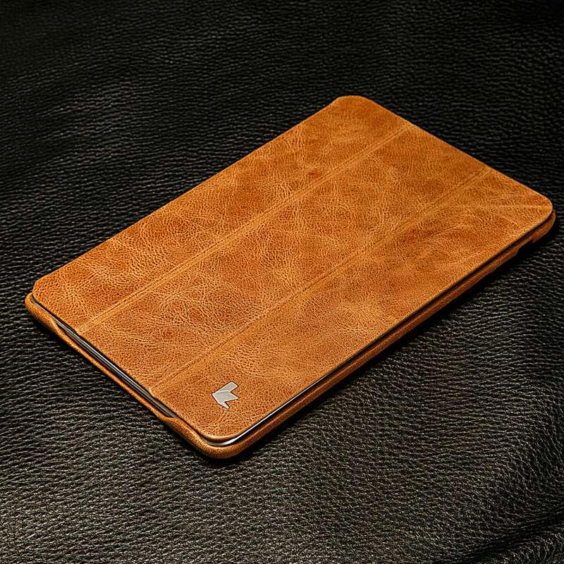 Jisoncase Luxury Ehtne nahast kaitseümbris iPad mini 2 3 jaoks Thin - Tahvelarvutite tarvikud - Foto 5