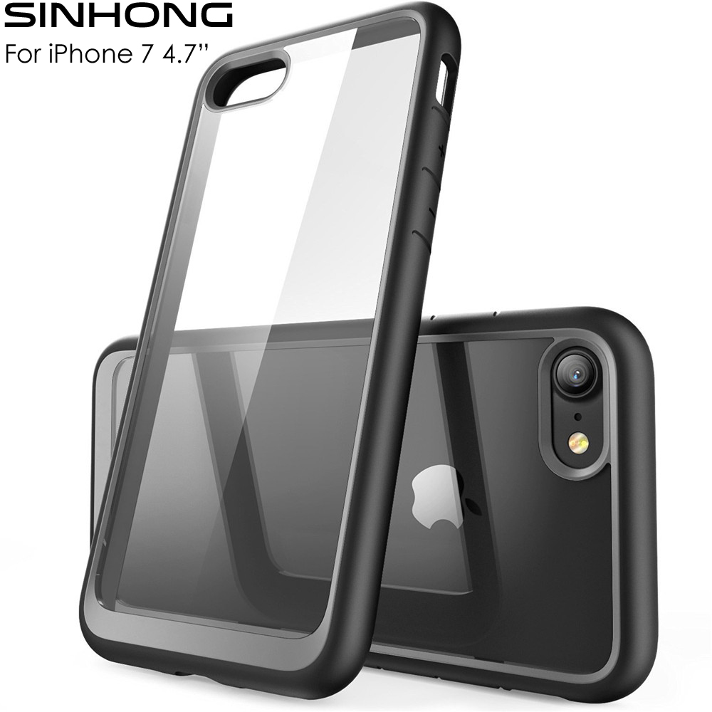 SINHONG Ultra Transparent Hard Case Für Apple iPhone 7 4,7