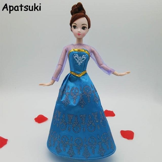 Elsa kleid fur puppe