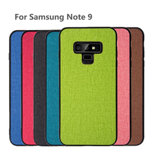 цена на For Samsung Galaxy Note 9 case note9 back cover Shockproof 360 Protective fabric case capas coque for samsung note 9 case