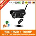 Hd 1080p Metal Bullet Wifi Ip Camera Wireless Surveillance Security 36pcs Infrared Lights Cmos Night Vision Freeshipping Hot