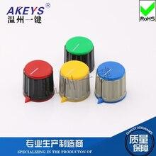 KN-21-Y-6.0 Potentiometer Bakelite Plastic Color Knob Encoder Band Switch Top Wire Knob Cap