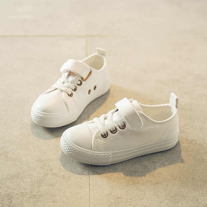 Брендовая обувь для детей девочек кроссовки мальчиков Мода 2018 осень новый  шаблон детей парусиновая обувь Молодежные 3359f80779a57