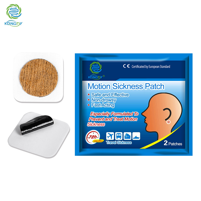 KONGDY Sickness Patch 40pcs/20bags Travel Anti-Motion Sickness Medical Stickers Prevent And Relieve Motion Sickness Medicine Pad