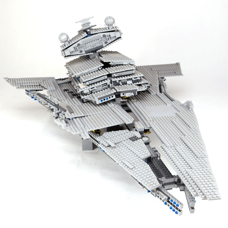 LEPIN 05027 Star DHL 3250Pcs Wars Emperor fighters starship Model Building Kit Blocks Bricks Compatible 10030 to Children Toys 05027 3250pcs star series wars classic emperor fighters starship model building blocks bricks toy compatible 10030 lepin