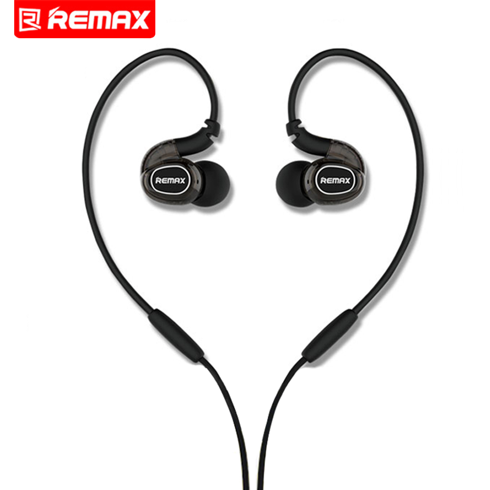 Remax 3.5mm Earphone Headset Stereo Bass In Ear Earphones Fone De Ouvido Microphone Mobile Phone MP3 For iPhone Samsung Xiaomi ufo pro metal in ear earphones treadmill female drug sing karaoke audio headset diy mobile phone