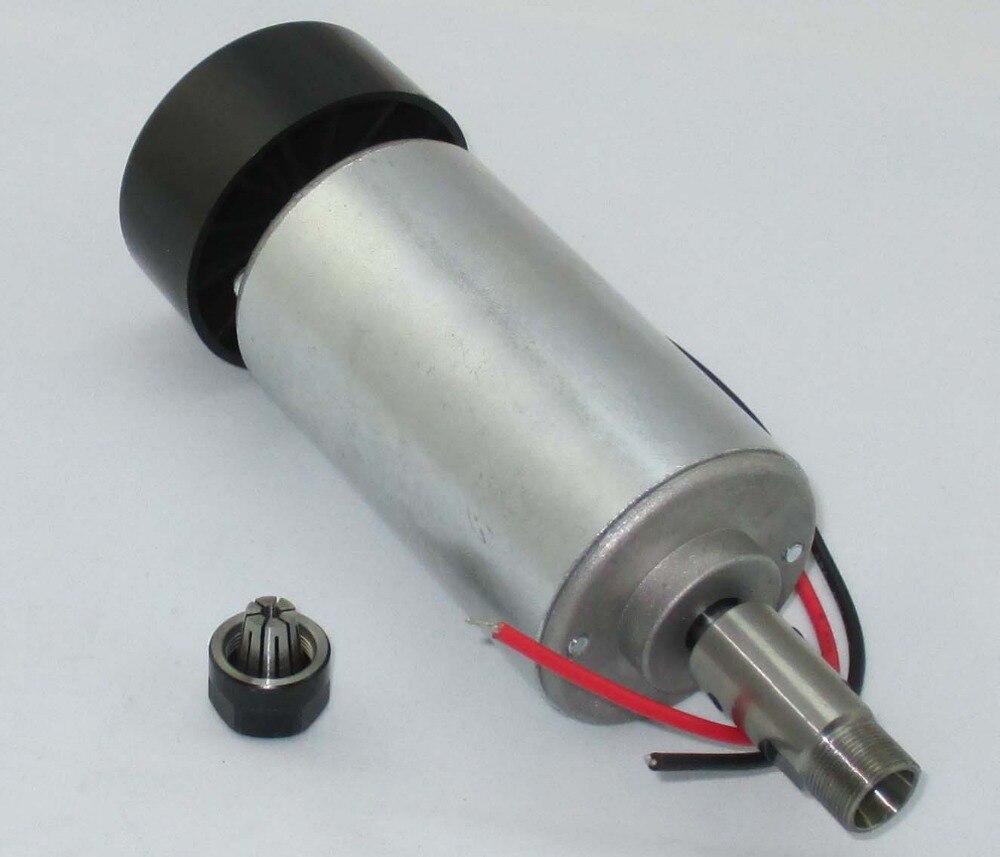 Moteur de broche de carte PCB de broche de machine de gravure refroidie par air à grande vitesse de 300 W