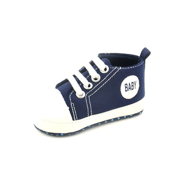2018 New Spring Style Baby First Walkers Newbor Baby Boy And Girl Sneakers Canvas Shoes Infantil Soft Bottom Kids Shoes 8 Colors 1