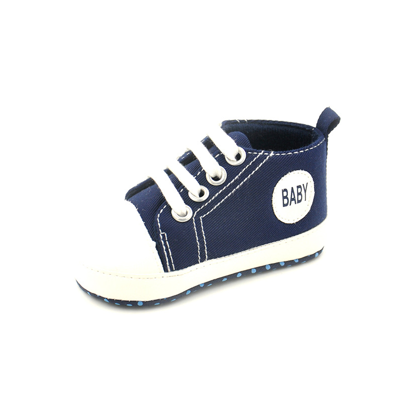 Baby Boys Girls Shoes Canvas Kids Children Sneakers Infantil Soft Bottom First Walkers Causal Style