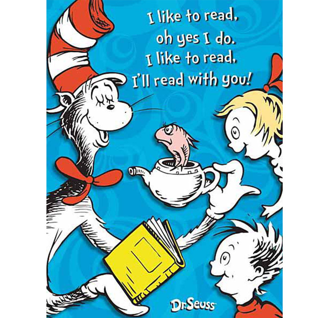 Eureka Dr. Seuss Motivational Poster Canvas Painting Posters And Prints  Wall Art Pictures For Living