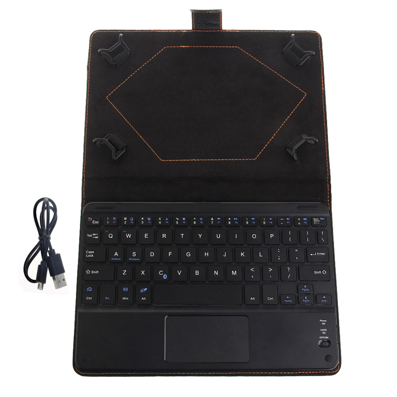 1Set Bluetooth Wireless Keyboard Cover Case with Touchpad for 8 to 8.9 Inch Tablet PC Case New
