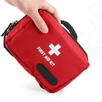 NEW Outdoor Tactical Emergency Medical First Aid Pouch Bags Survival Pack Rescue Kit Empty Bag
