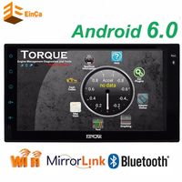 Android 5 1 Car Stereo GPS Navigation 7 Inch Capacitive Touch Screen Double Din Auto Radio