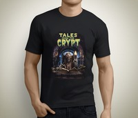 Newest Funny New Tales From The Crypt Vinte Tv Series Men S Bla T Shirt Size