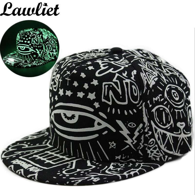 bone font hats graffiti baseball cap hip hop fluorescent light hipster for big heads uk caps wholesale los angeles mlb