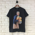 High Quality T-Shirts Tops Tees Rappers Cotton Vintage 3D Printed Character Pattern Hip Hop Harajuku Masculinas Camisetas Hombre