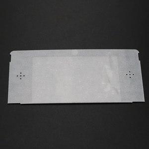 Image 3 - YuXi 10 יח\חבילה החלפת פלסטיק למעלה קדמי LCD מסך מסגרת עדשת כיסוי עבור Nintendo עבור 3DS