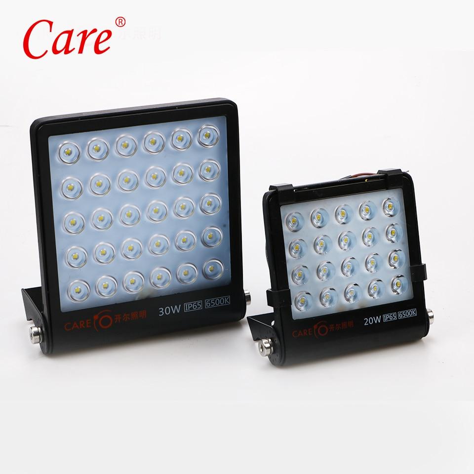 Care LED Outdoor Led Floodlight Reflector 20W 6500K IP65 LED Spotlight Floodlight Gargen Lamp Landscape Lighting стоимость