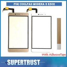 High Quality 5.5 Inch For Coolpad Modena 2 E502 Touch screen Front Gla