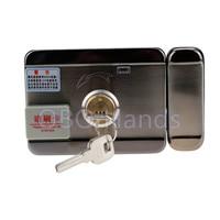 Access control lock metal mute electric lock RFID security door lock EM lock with rfid key card reader for apartment HOT SALE