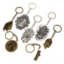 Creative Vintage Bag Charm Keyring Queen Chief Christian Key Chain Ring Car Keychain Handmade Gift For Mother