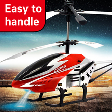 3.5CH Remote Control Helicopter Alloy Copter with Gyroscope Best Kids Toys Gift
