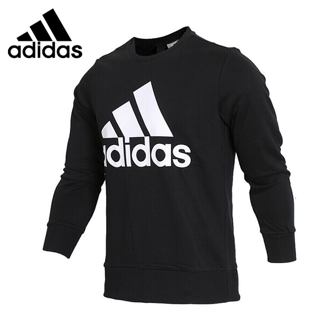 Original Neue Ankunft 2018 Adidas ESS BIGLOG CREW männer Pullover Jerseys sportkleidung in Original Neue Ankunft 2018 Adidas ESS BIGLOG CREW männer