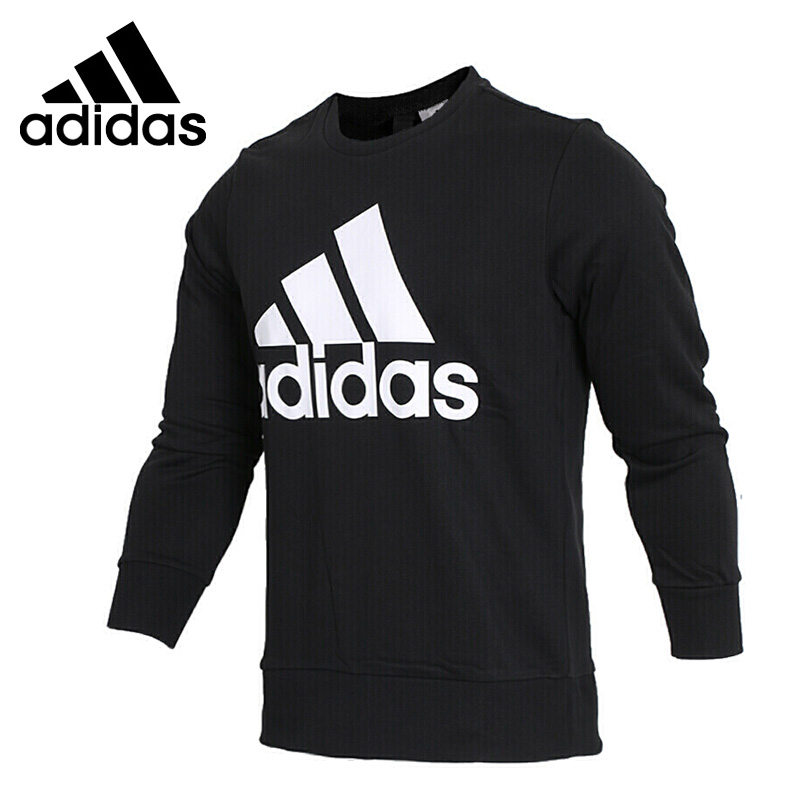 Original New Arrival 2018 Adidas ESS BIGLOG CREW Men's Pullover Jerseys Sportswear original new arrival official adidas neo men s breathable o neck pullover jerseys sportswear