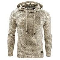 New 2016 Winter European Cardigan Loose Coat Mens Hoodies Casual Sweatshirt Moleton Masculino Streetwear Harajuku Tracksuit