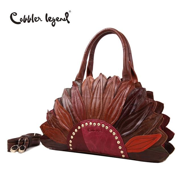 Cobbler Legend 2016 New Women's Handbags Shoulder Genuine Leather Bag Superior Cowhide Leather Female Bag Women Handbag #1204101