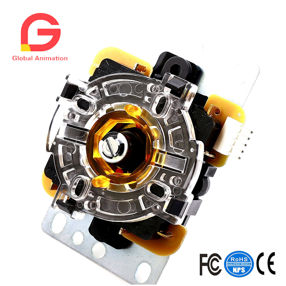 2 pcs GT-Y Octagonal Restrictor Plate, 8 Way Octagonal Joystick Gate for Arcade DIY, Raspberry Pi, MAME Cabinat Project