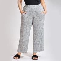 Women's Pajama Wide Leg Sleep Pant Sleepwear Loose Lounge Bottoms