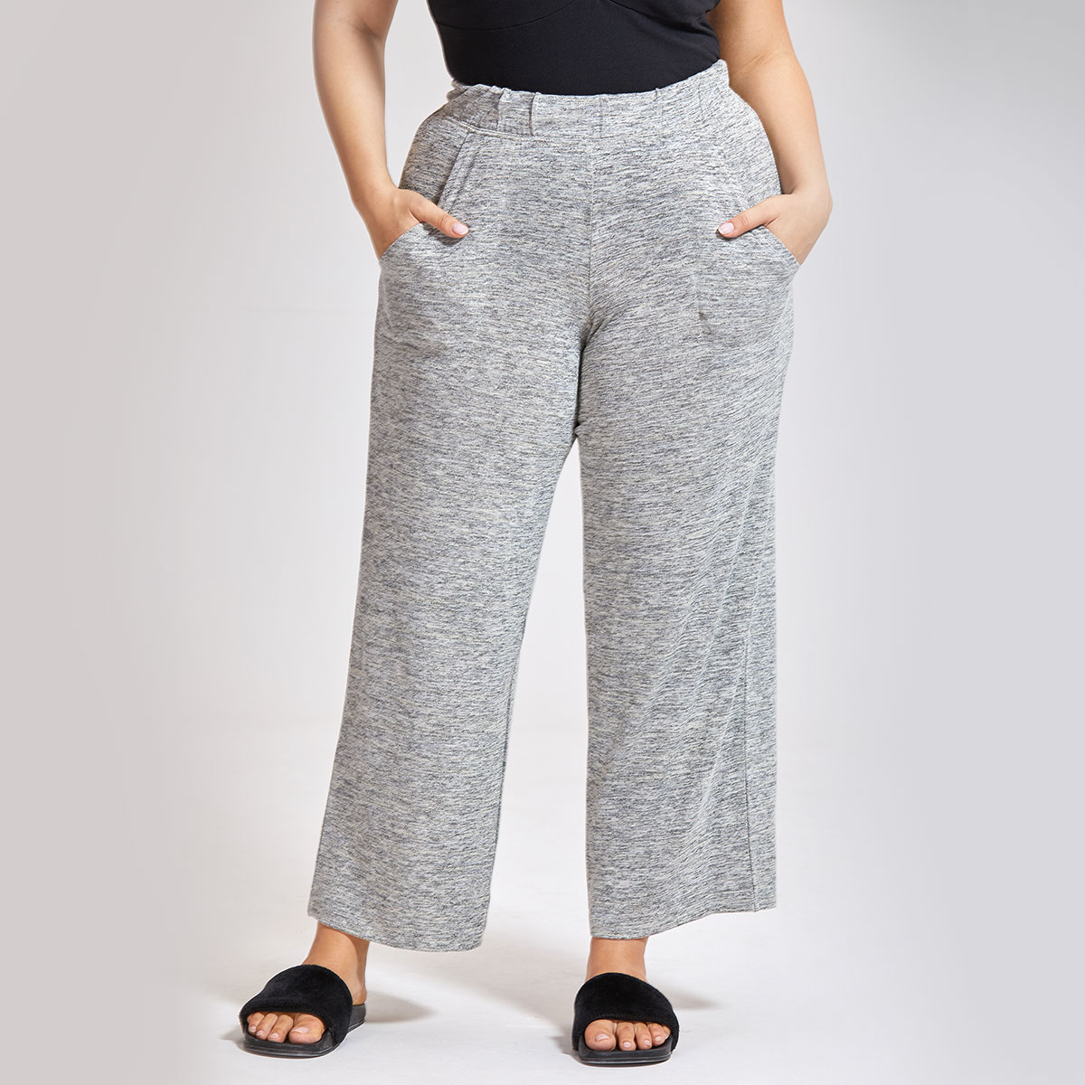 Women's Pajama Wide Leg Sleep Pant Sleepwear Loose Lounge Bottoms