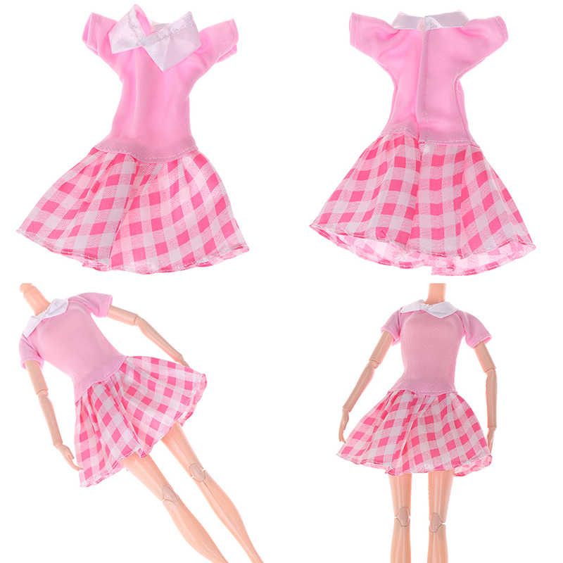 1 Set/Lot Hot Sell Doll Outfits Top Fashion Dress Party Gown Clothes For Doll Baby Toys Best Girls' Gifts Child Toys