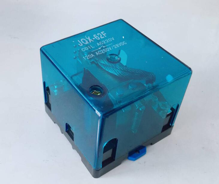 JQX-62F 1Z 120A High-power relay DC12V DC24V AC110V AC220V
